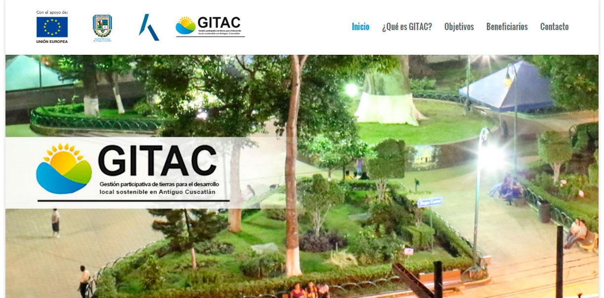 Micrositio GITAC / Alcaldía de Antiguo Cuscatlán